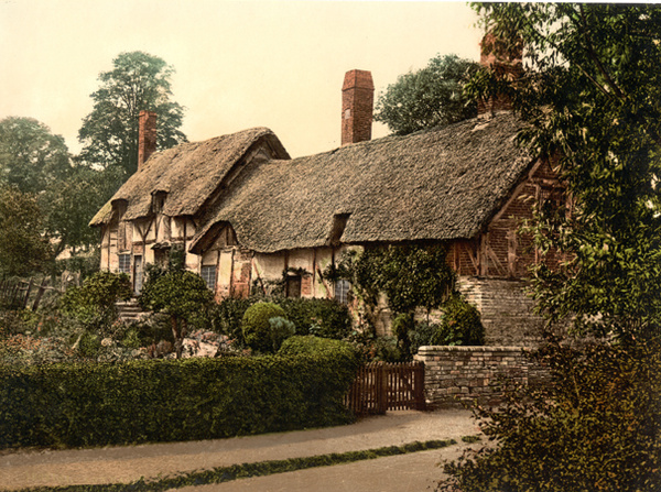 Ann Hathaway's Cottage 1 - Old Photos of Stratford on Avon
