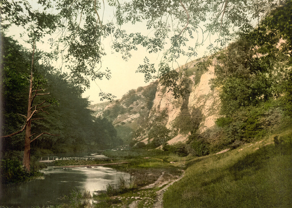 Peak District Dovedale 12 - Old Photos of Peak District