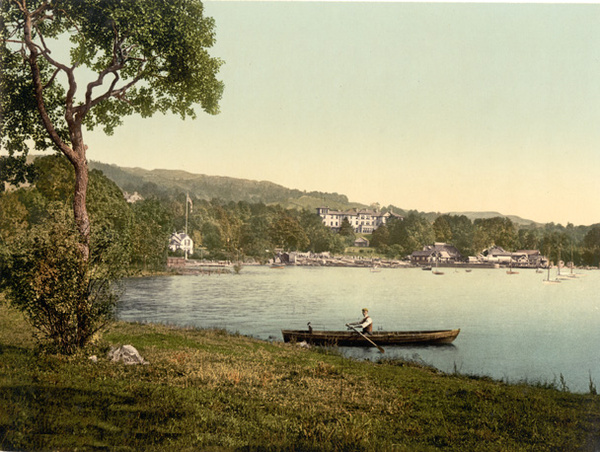 Lake District Windermere Bowness Bay  54 - Old Photos of Lake District