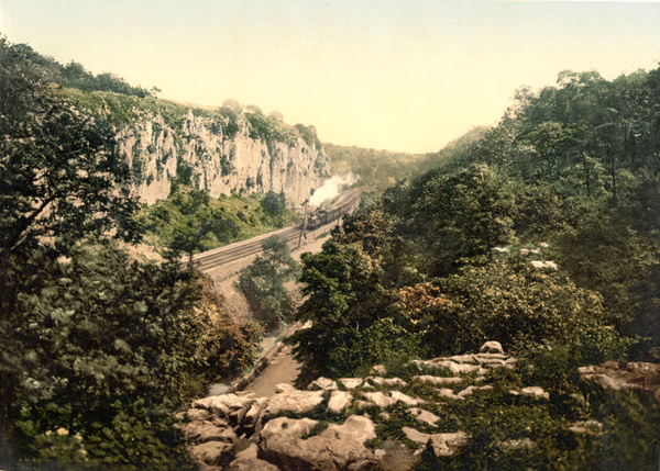 Buxton Chee Dale 2 - Old Photos of Buxton
