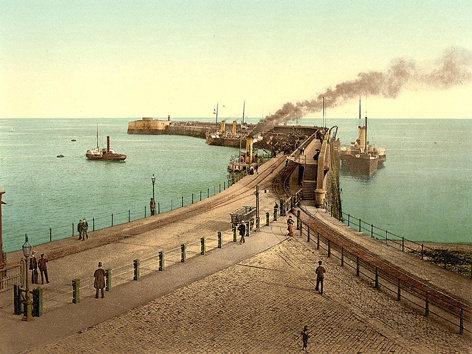 Dover Admiralty Pier 1 - Old Photos of Dover