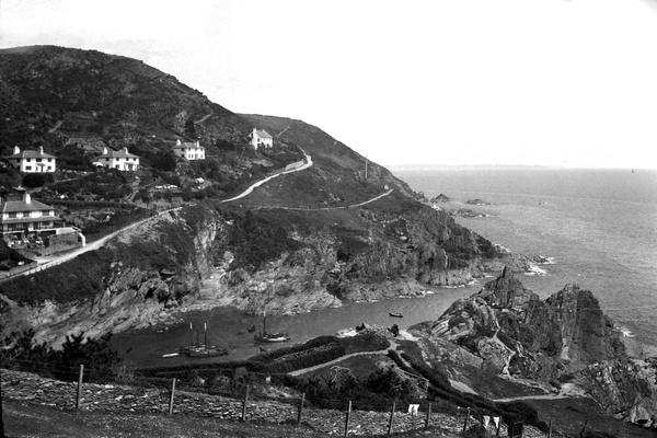 Peak Rock Polperro 23 - Old Photos of Polperro