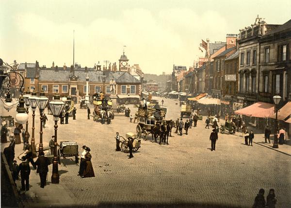 Carlisle Market Place 4 - Old Photos of Carlisle