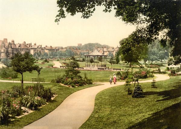 Dorchester Borough Gardens 1 - Old Photos of Dorchester