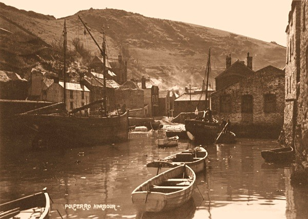 Polperro Harbour 15 - Old Photos of Polperro