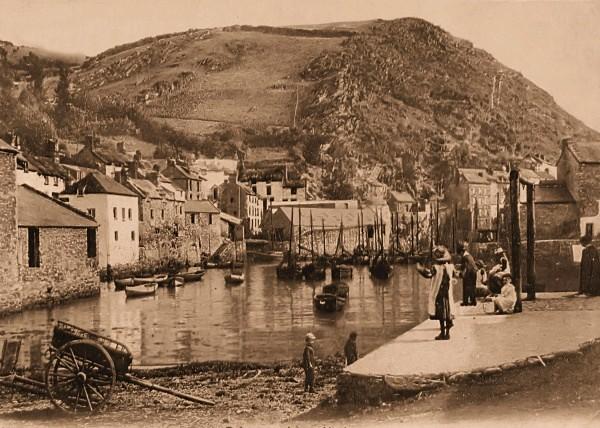 Polperro Harbour 17 - Old Photos of Polperro