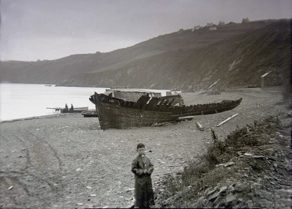 IOM Laxey Shipwreck 4 - Old Photos of Laxey