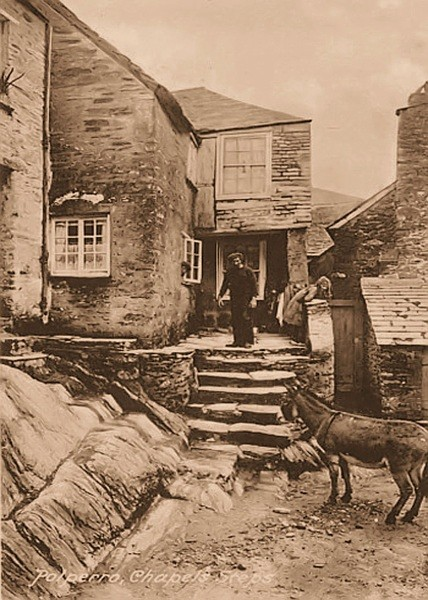 Smugglers Cottage Polperro 9 - Old Photos of Polperro