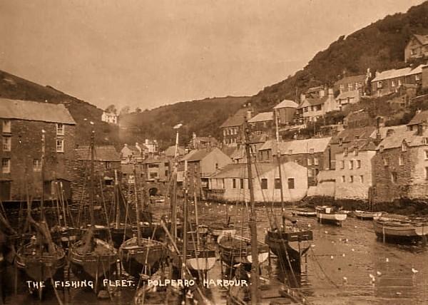 Polperro Harbour 11 - Old Photos of Polperro