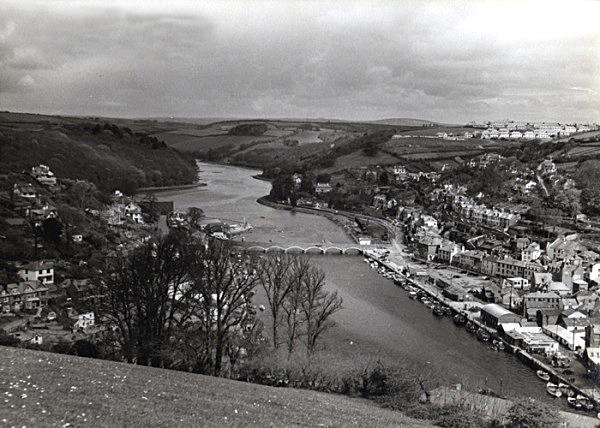 Looe River 22 - Old Photos of Looe