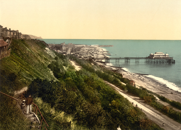 Folkestone Beach and Pier 5 - Old Photos of Folkestone