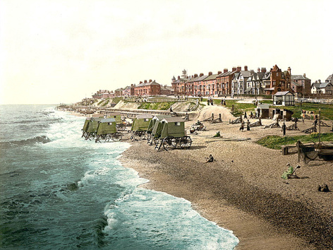 Southwold Beach 2 - Old Photos of Southwold