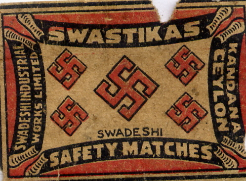 Matchbox Ceylon 82 - Old Matchbox Labels