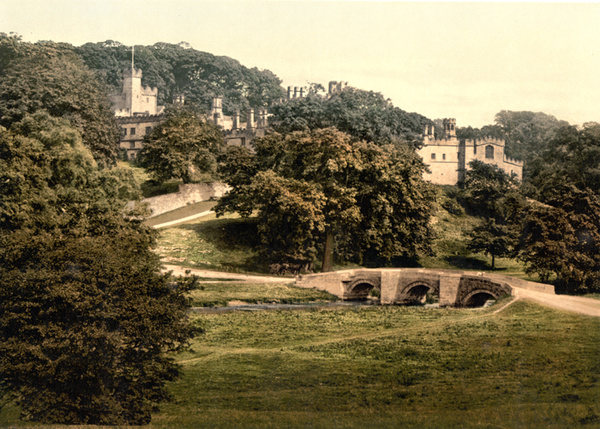 Peak District Haddon Hall 16 - Old Photos of Peak District