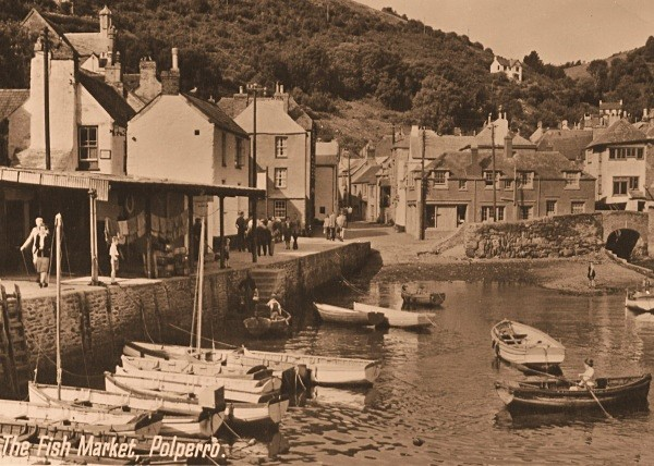 Polperro Harbour 20 - Old Photos of Polperro
