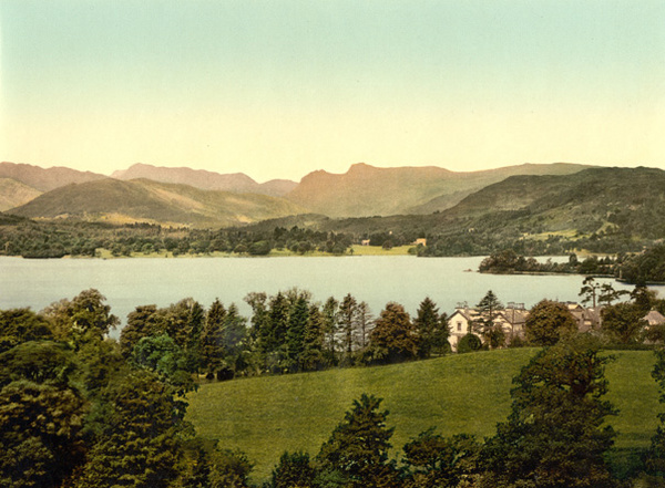 Lake District Windermere Langdale Pikes 53 - Old Photos of Lake District