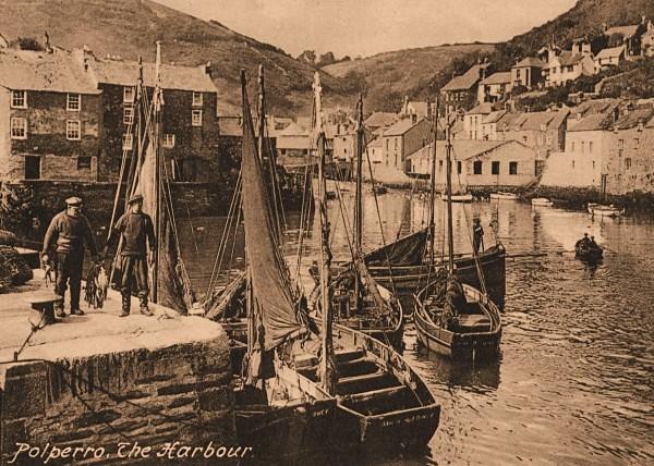 Polperro Harbour 14 - Old Photos of Polperro