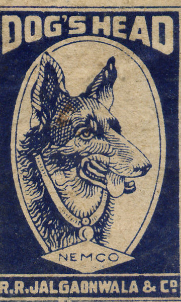 Matchbox India 6 - Old Matchbox Labels