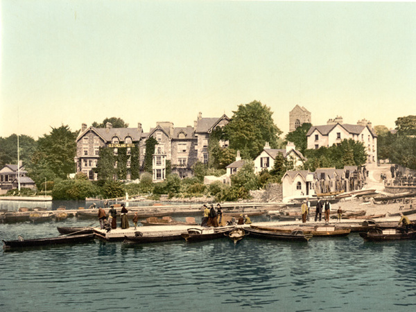 Lake District Windermere Bowness 55 - Old Photos of Lake District