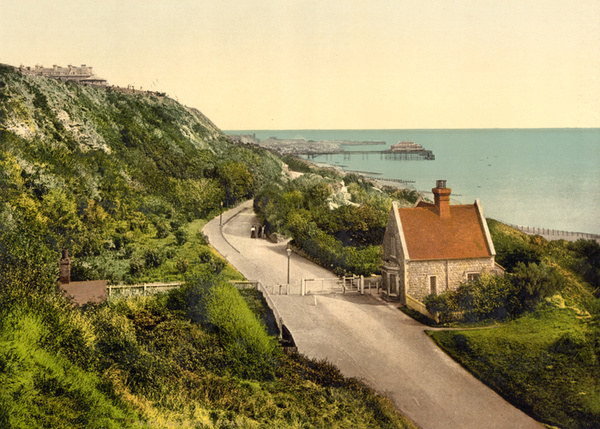 Folkestone Lower Sandgate Road 4 - Old Photos of Folkestone