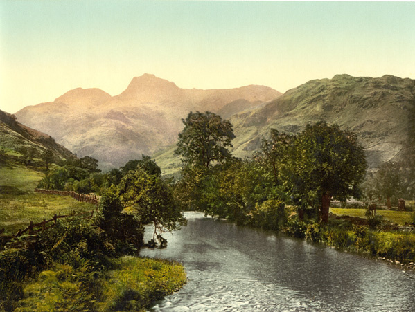 Lake District Windermere Langdale Pikes 63 - Old Photos of Lake District