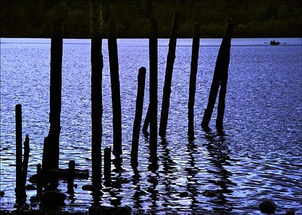 Rowing boat, Keswick - Colour Landscape