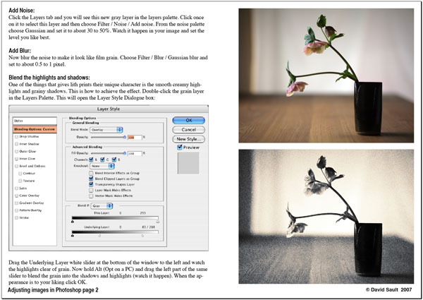 Creating a lith image page 2. - Tutorials - creative Photoshop technique