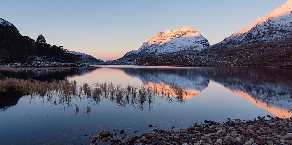 First light on Liathach - Torridon