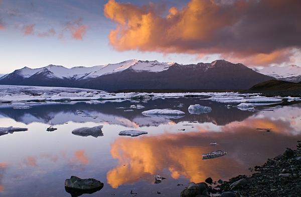 Jokulsarlon glacial lagoon - Nordic countries
