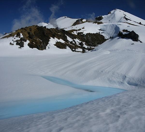 Emerald lakes - New Zealand - National Park (North Island)