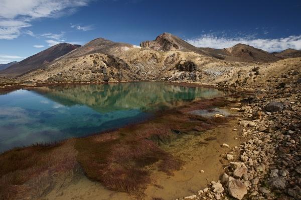 Emerald lakes - New Zealand North Island