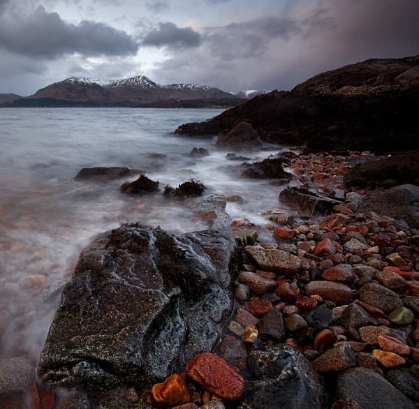 Loch Linnhe in winter - Scottish Landscapes