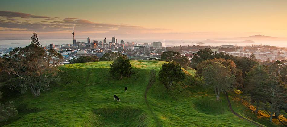 Volcanic origins - Auckland