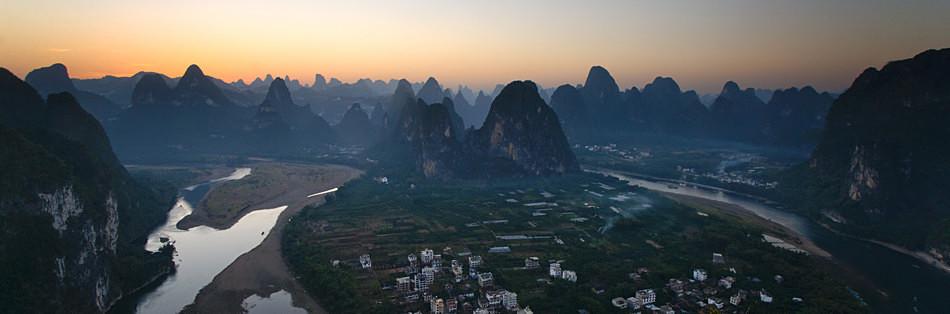 Karst mountains - China, Guangxi Province