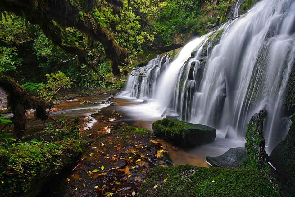 Purakaunui falls - New Zealand South Island