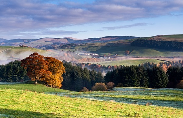 Mist over Nithsdale - Dumfries and Galloway