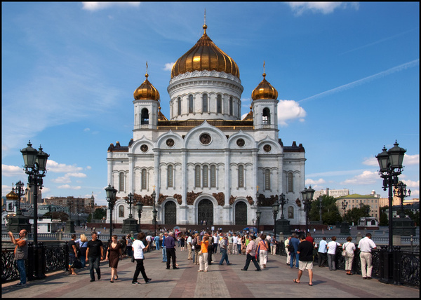 Moscow - Christ the Saviour - Travels Abroad