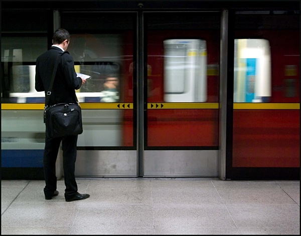 Waiting for the Northbound Train - ARPS Images