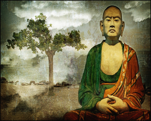 Chinese Monk - Travels Abroad