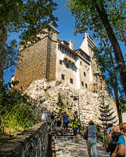 Bran Castle, Transylvania - Travels Abroad