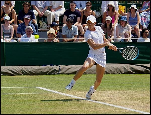 Cara Black - Wimbledon - LRPS Images