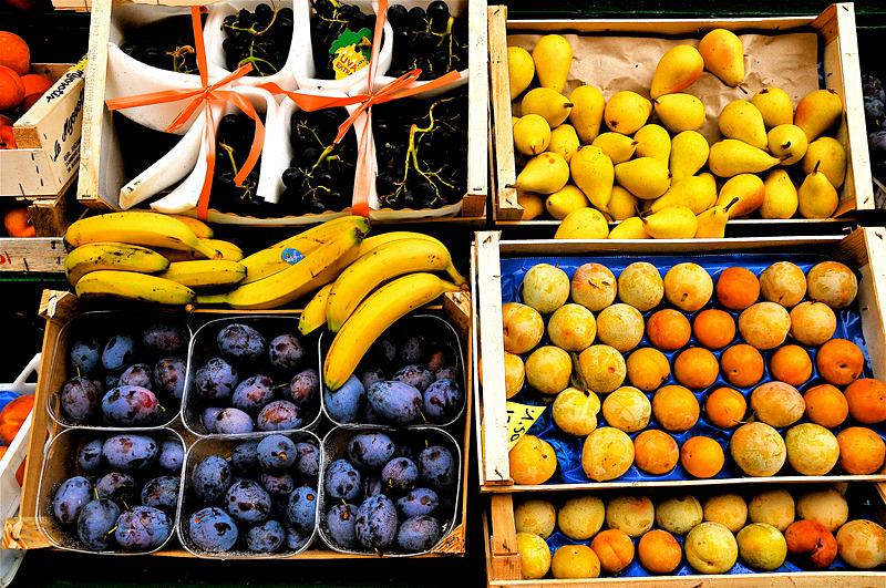 Fruit Market - Travel in Color