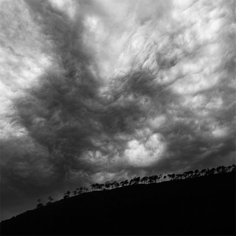 Earth & Sky No.19 - Surrealism - Black & White