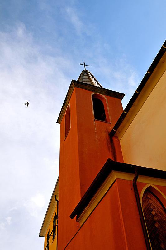 Riomaggiore Church - Travel in Color