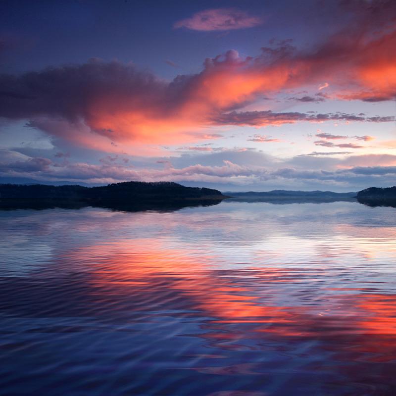 Shrimp Cloud over Douglas Lake - Air & Water
