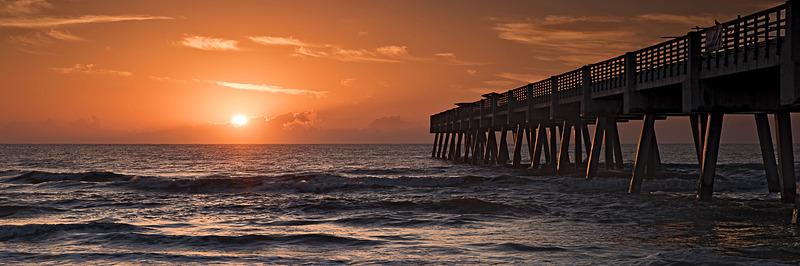Jacksonville Beach Pier Panorama No4 - Panoramas