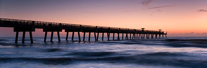 Jacksonville Beach Pier Panorama No5 - Panoramas