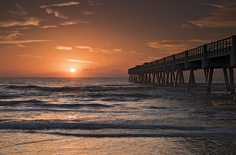 Jacksonville Beach Pier No5 - Beaches