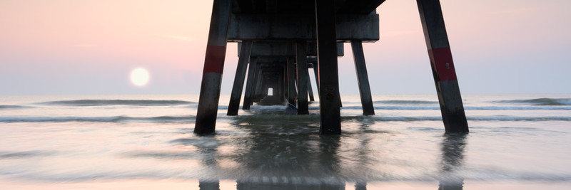 Jacksonville Beach Pier - Panorama No.1