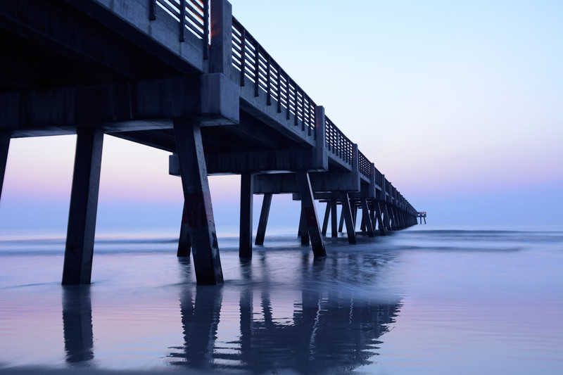 August Morning Pier - Beaches